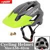 BATFOX Homens Capacete Da Bicicleta Capacete de Mountain Bike XC TRAIL MTB Ultraleve Capacete Estrada Integ-Moldado cruz Ciclo Ciclismo BMX capacete 11