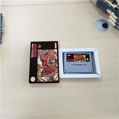 Secret de Evermore   EUR Version RPG carte de jeu batterie économiser avec boîte de vente au détail