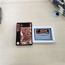 Secret of Evermore batería RPG con tarjeta de juego versión europea, ahorra con caja de venta al por menor