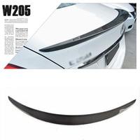 Sports Grade Cabon Fiber Rear Trunk Spoiler Boot Lip Wing For Mercedes Benz W205 2015