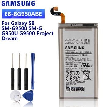 SAMSUNG Original Replacement Battery EB-BG950ABE For Samsung GALAXY S8 G9508 G9500 G950U SM-G9508 Project Dream EB-BG950ABA battery original for samsung galaxy s8 eb bg950abe sm g9508 g9500 g950u li ion replacement batteria akku