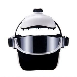 Image 2 - Head Massager Eye Massager 2 in 1 Relieve Stress Promote Sleep Music Massage Helmet Automatic Infrared Pressure Head Massager