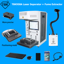 TBK958A Laser Marking Machine Fully Auto Focus For iPhone 11 X XR Back Cover Separator Dismantling LCD Screen LOGO Carve 2020
