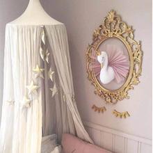 S Золотая Корона кукла Лебедь розовая плюшевая игрушка настенная подвесная Плюшевая Кукла Принцесса комната игра украшение дома подарки для детей