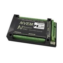 NVEM CNC motion controller nvemv2.1 upgrade 3axis 4axis 5axis 6axis mach3 control card Ethernet interface