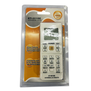 Image 1 - 4000 in 1 Universal Air Conditioner Remote Control KT 9018E LCD AC Fernbedienung