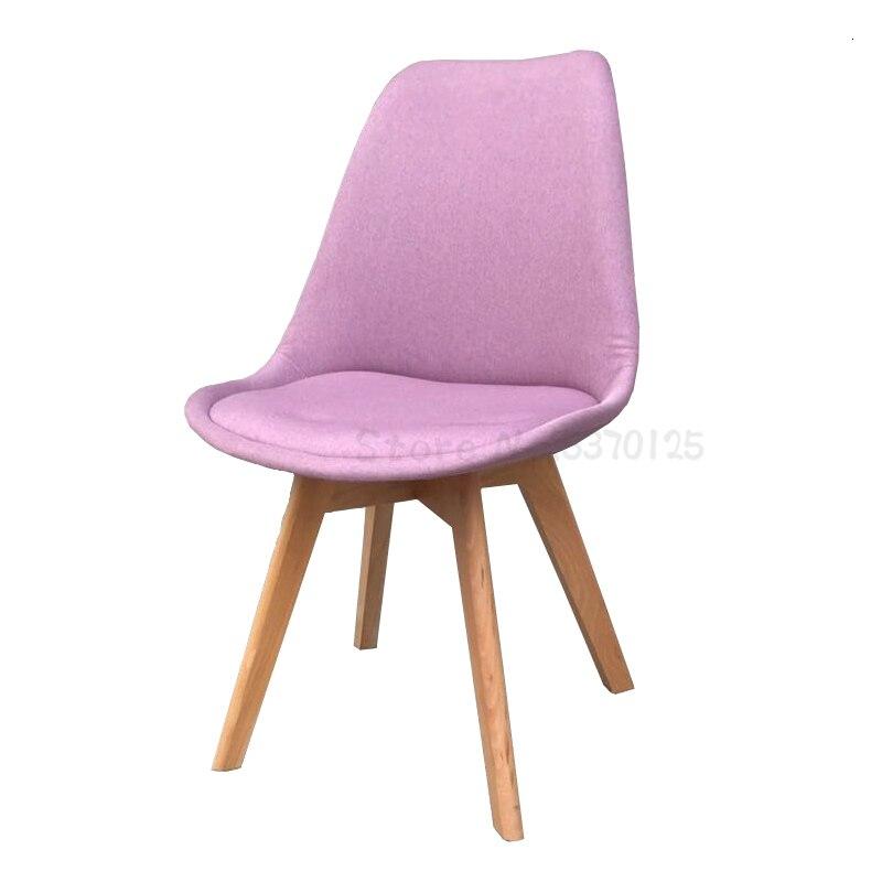 Nordique tabouret maison dos Net rouge salle à manger chaise bureau moderne Simple belle fille chambre étudiant dortoir