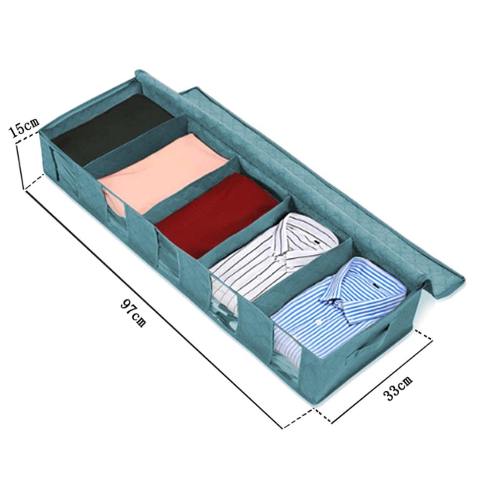 Складной ящик для хранения грязной одежды для сбора чехол из нетканого материала на молнии влагостойкие игрушки стеганая коробка для хранения - Цвет: G252563B