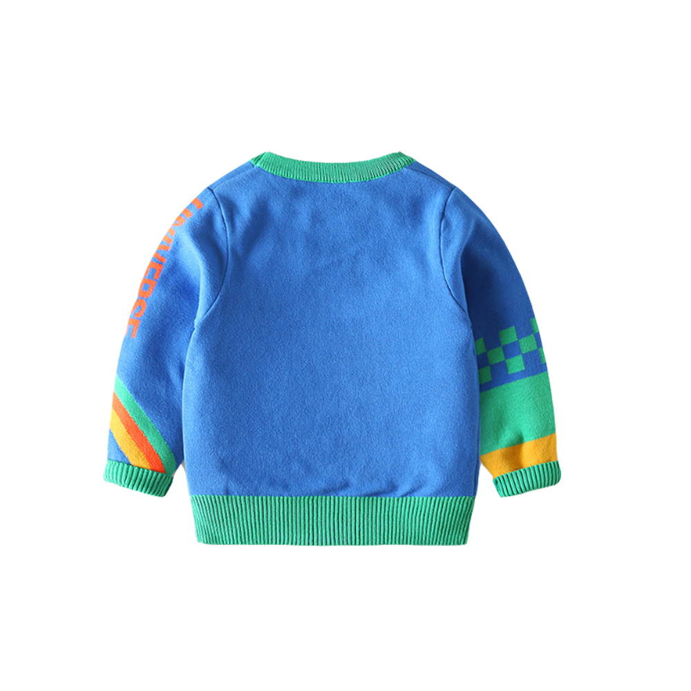 Mudkingdom Winter Kids Boys Knit Sweaters Toddler Cartoon Fashion Clothing Fall Children Pullover Clothes 3