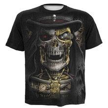 Цельный Лидер продаж Высококачественная футболка триллер 3d