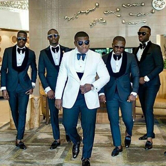 Men Suits For Wedding Suits Man Blazer Groom Tuxedo 3Piece Costume Homme Slim Fit Terno Masculino Trajes De Hombre