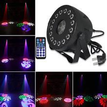 цена на 30W RGBW LED Par Light with DMX512 2in1 Stage Strobe Light Wash Effect DJ Disco Party Lights For Wedding Birthday KTV Christmas