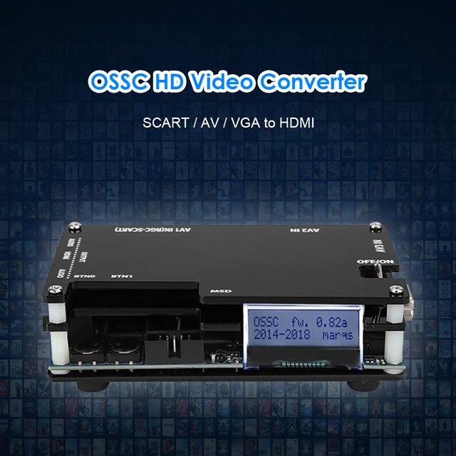 OSSC Retro Game Console HDMI-Compatible Converter Kit for PlayStation 2 1 Xbox Sega Atari Game Console Open Source Scan Converte 4