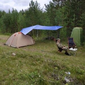 Image 5 - ポータブルムーンチェア軽量釣りキャンプバーベキュー折りたたみ拡張ハイキングシートガーデン超軽量オフィス家庭用家具