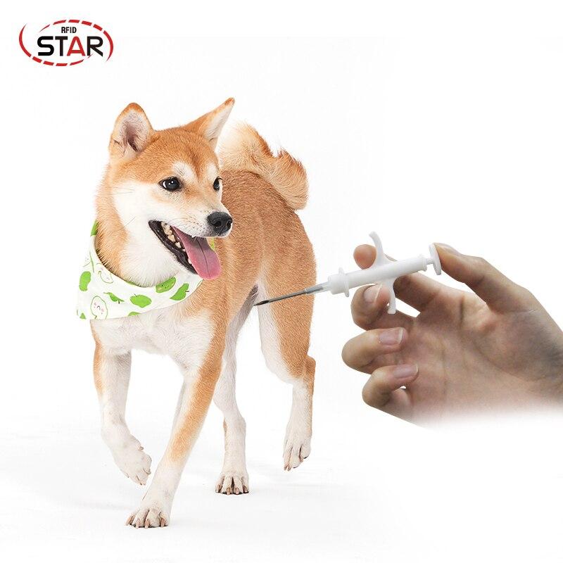 Top SaleAnimal-Chip Injector Pet-Syringe Id-Transponder Veterinary Rfid Fdx-B 50pcs Lf