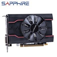 SAPPHIRE RX550 4GB Graphics Cards GPU Original AMD Radeon RX 550 4GB GDDR5 Video Cards Desktop PC Computer Game Map PCI E X16