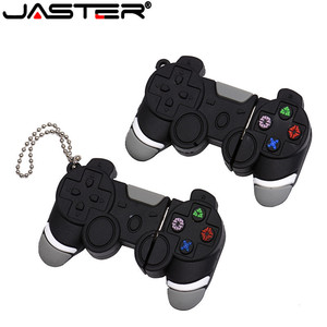Image 2 - JASTER Usb Memory Stick 64gb Cartoon Game Controller USB Flash Drive 4GB pendrive pen drive 16GB 32GB Handle Model Free Ship
