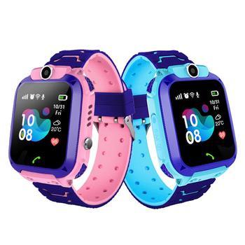 Children's 4G Smart Phone Watch Touch Screen Student Smart Watch Waterproof Positioning Light Watch Multifunction