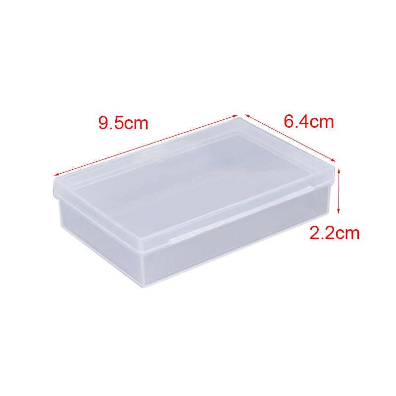2PCS Transparent Kunststoff Boxen Spielkarten Container PP Lagerung Fall Verpackung Poker Game Card Box Für Poker Set Bord spiele