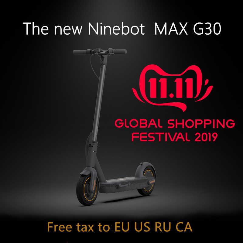 2019 Original Ninebot MAX G30 KickScooter 10inch foldable