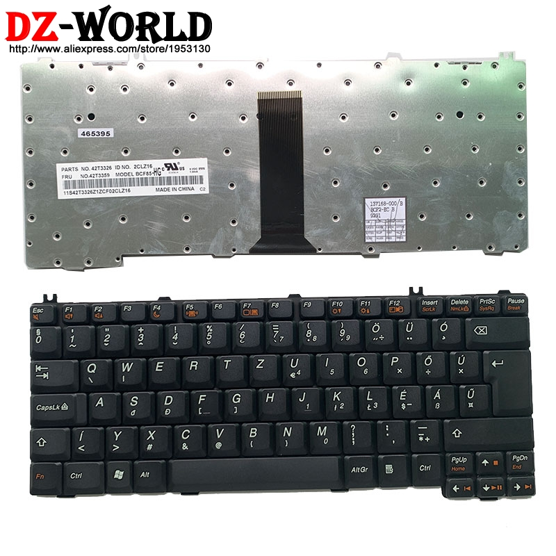 New Hungary Laptop Keyboard For Lenovo 3000 C100 C200 F31 F41 G420 G430 G450 G530 A4R N100 N200 Y430 C460 C466 C510 42T3359