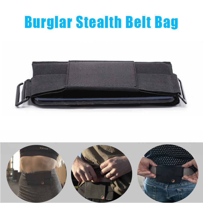 Minimalist Invisible Wallet Waist Bag Mini Pouch For Key Card Phone Sports Outdoor J55