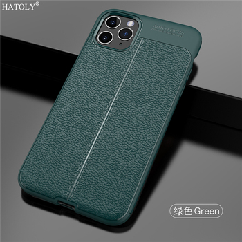 For iPhone 11 Pro Max Case iPhone 11 Pro Apple Case Luxury Leather PU Soft Silicone Phone Back Cover iPhone 7 8 5S 6S Plus XR SE
