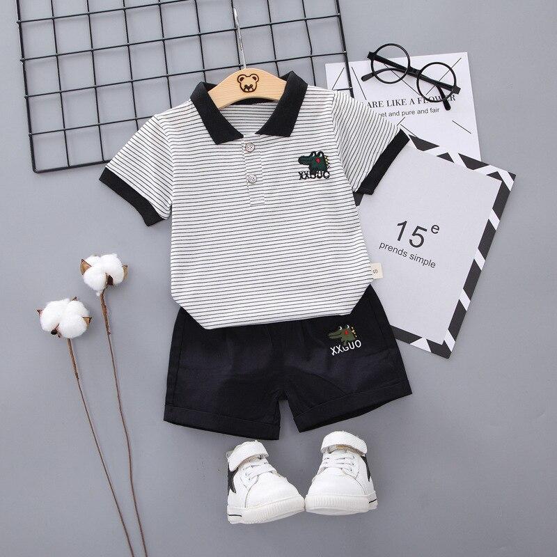 meninos do bebe conjunto de roupas verao shorts algodao criancas esporte terno 2020 agasalho traje da