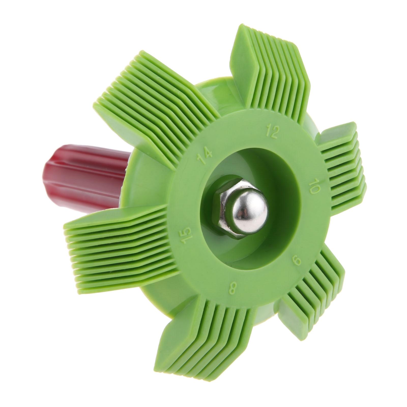 A//C Radiator Fin Straightener Cleaner Comb Rake Tool 6 8 9 10 12 14 15