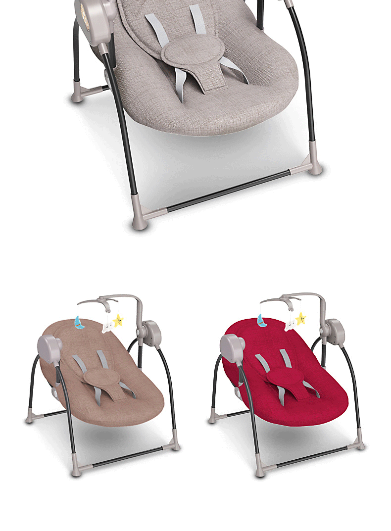 H0067291614324567b54d1a29a7644924R Baby electric rocking chair cradle baby comfort recliner rocking chair baby supplies bed Russia free shipping