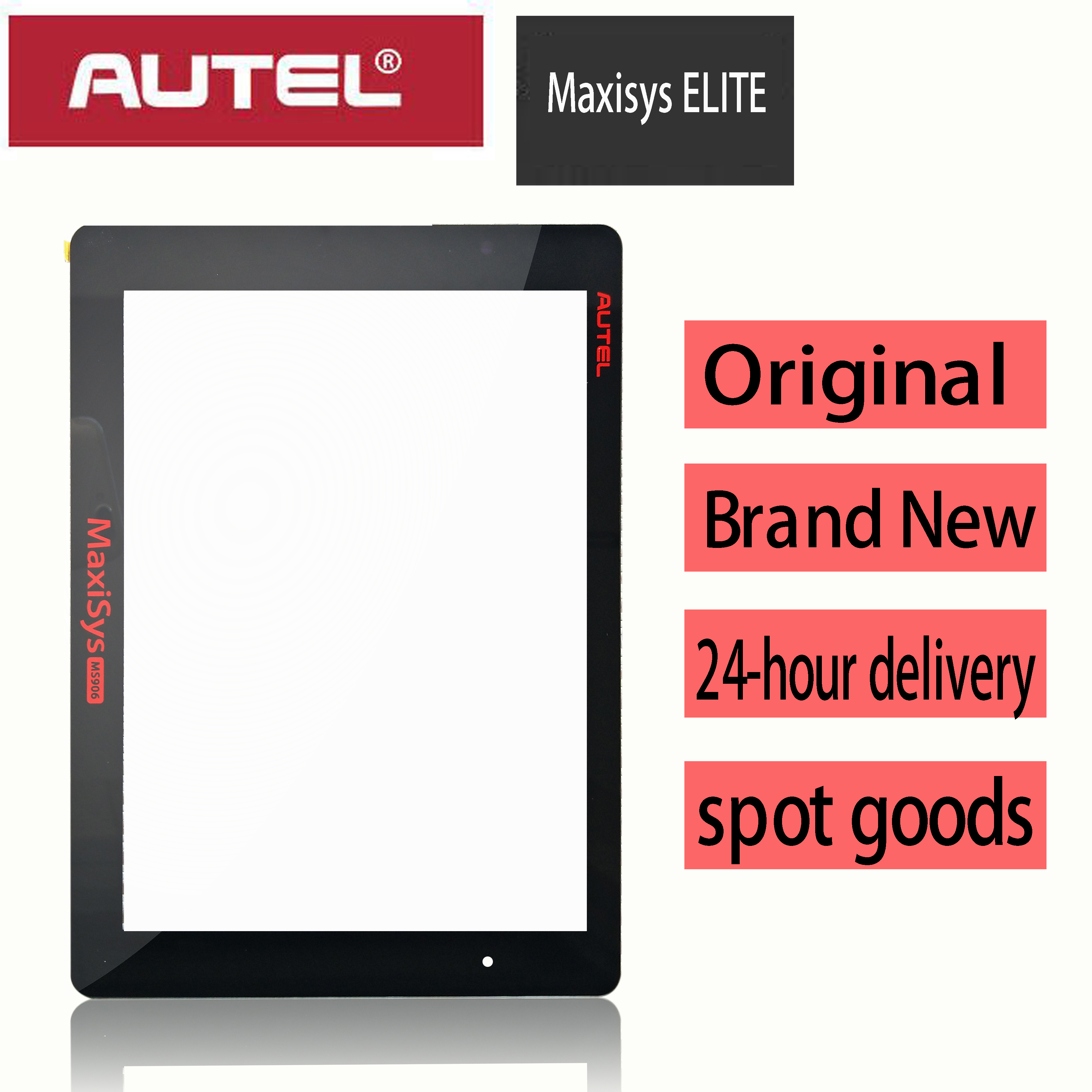Original Touch Screen Panel Digitizer Glass Sensor Sensor Replacement for AUTEL maxisys elite X100PAD