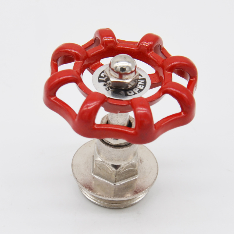 Cut-off Valve Element Valve Head Red Handwheel Shui Guan Deng Switch LOFT Industrial-Style Lamps Large Amount Favorably