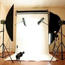 Blanc mur photographie toile de fond tissu Studio Photocall privé Ins Photo arrière plan Photophone caméra 92cm * 152 cm/3 * 5ft