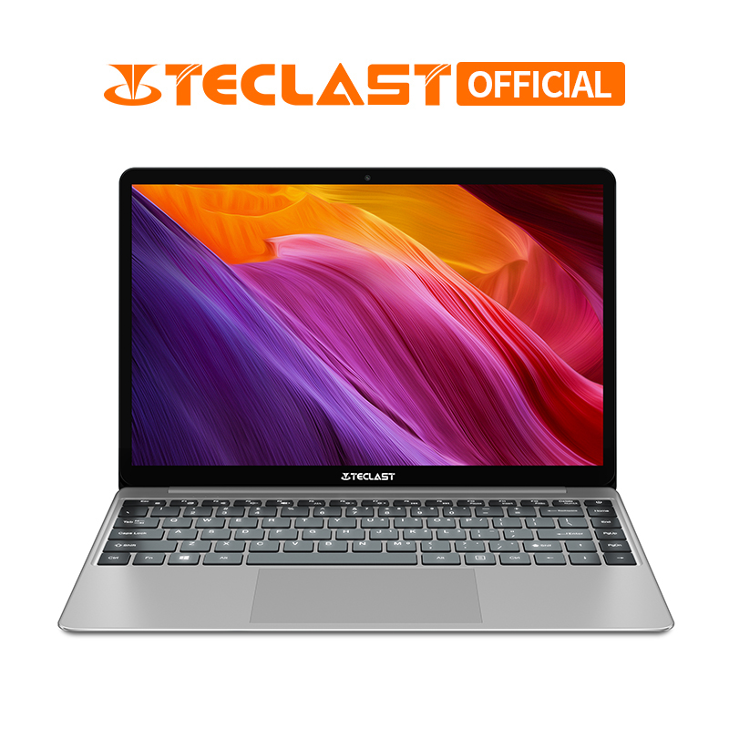 Teclast F7 Plus 14 Polegada 1920x1080 Intel Gemeos Lago N4100 Windows10 8GB de RAM 256GB SSD Laptop com Teclado Retroiluminado Notebook