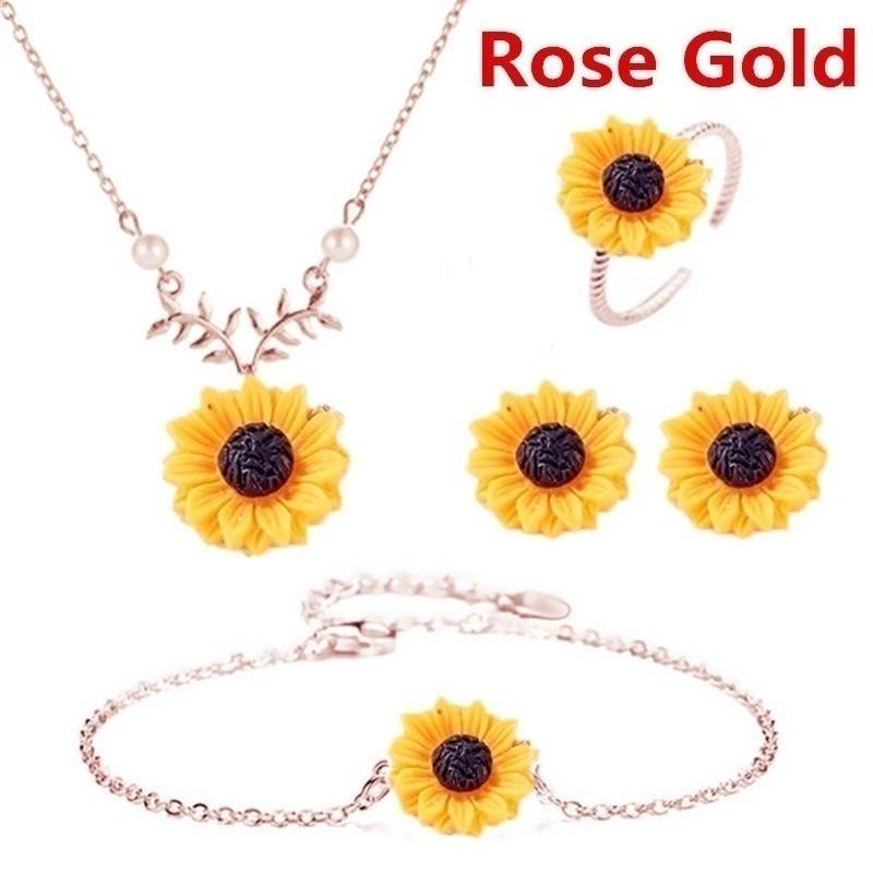 rose gold-5pcs