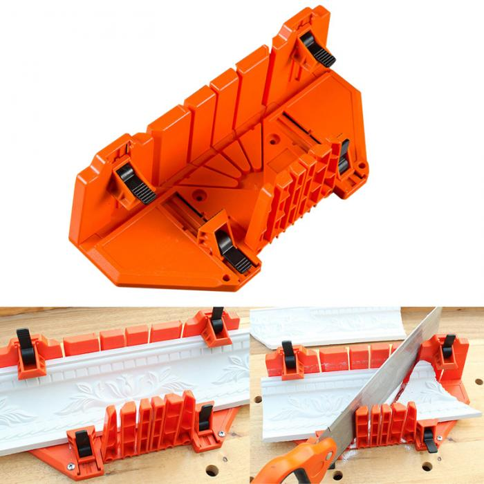 Wood Angle Cutting Saw 0/22.5/45/90 Degree Clamping Mitre Box Cabinet Case Woodworking Tool SDF-SHIP