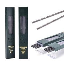 10 pièces/boîte 2mm 2B HB créatif noir 2.0mm crayon mécanique plomb recharge bureau fournitures scolaires étudiant Papelaria