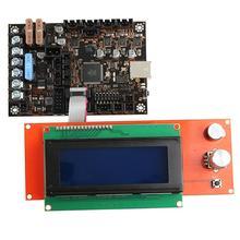 Для 3D-принтера Einsy rambo1.1a материнская плата+ 2004LCD+ Датчик накаливания+ PINDA V2+ блок питания