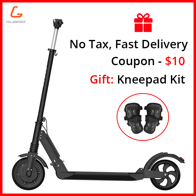 Poland stock No tax KUGOO S1 350W Electric Scooter Adult Folding Speed Electric Scooter 3