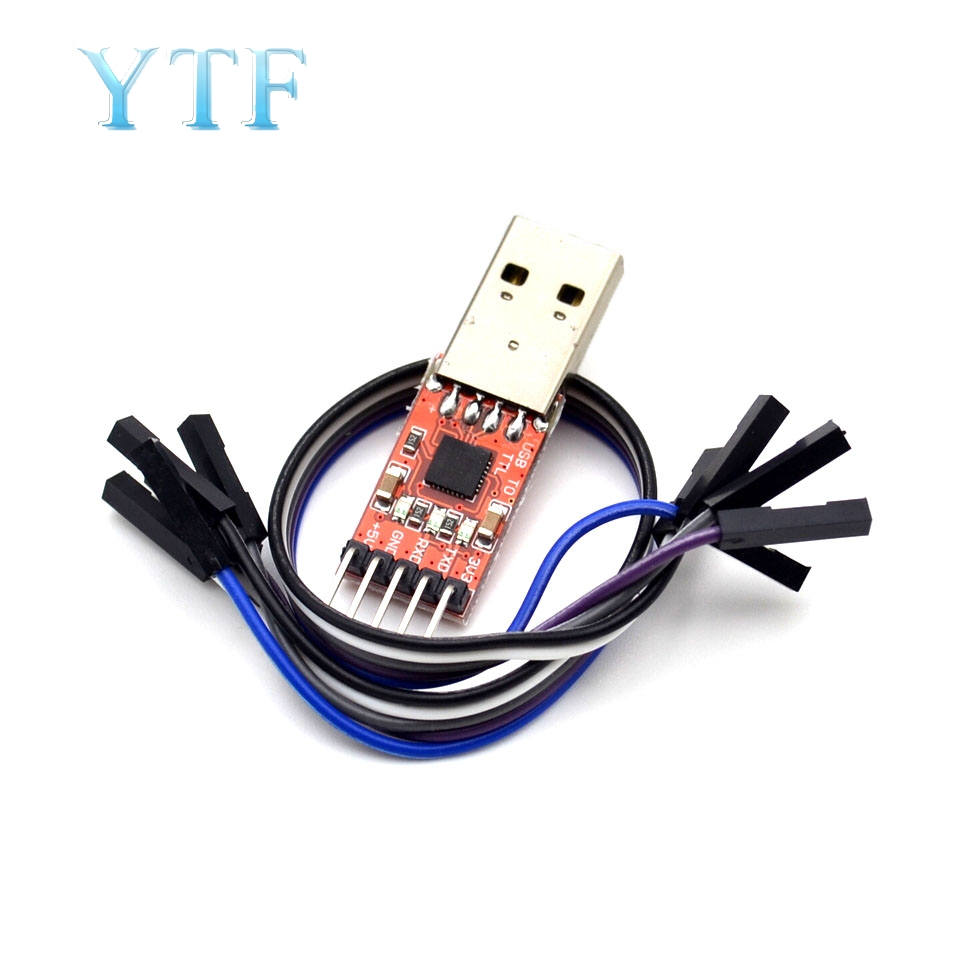 CP2102 Module USB To TTL Serial UART STC Download Cable PL2303 Super Brush Line Upgrade
