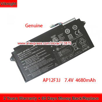 Batería genuina de 7,4 V 4680mAh AP12F3J para el ordenador portátil de...
