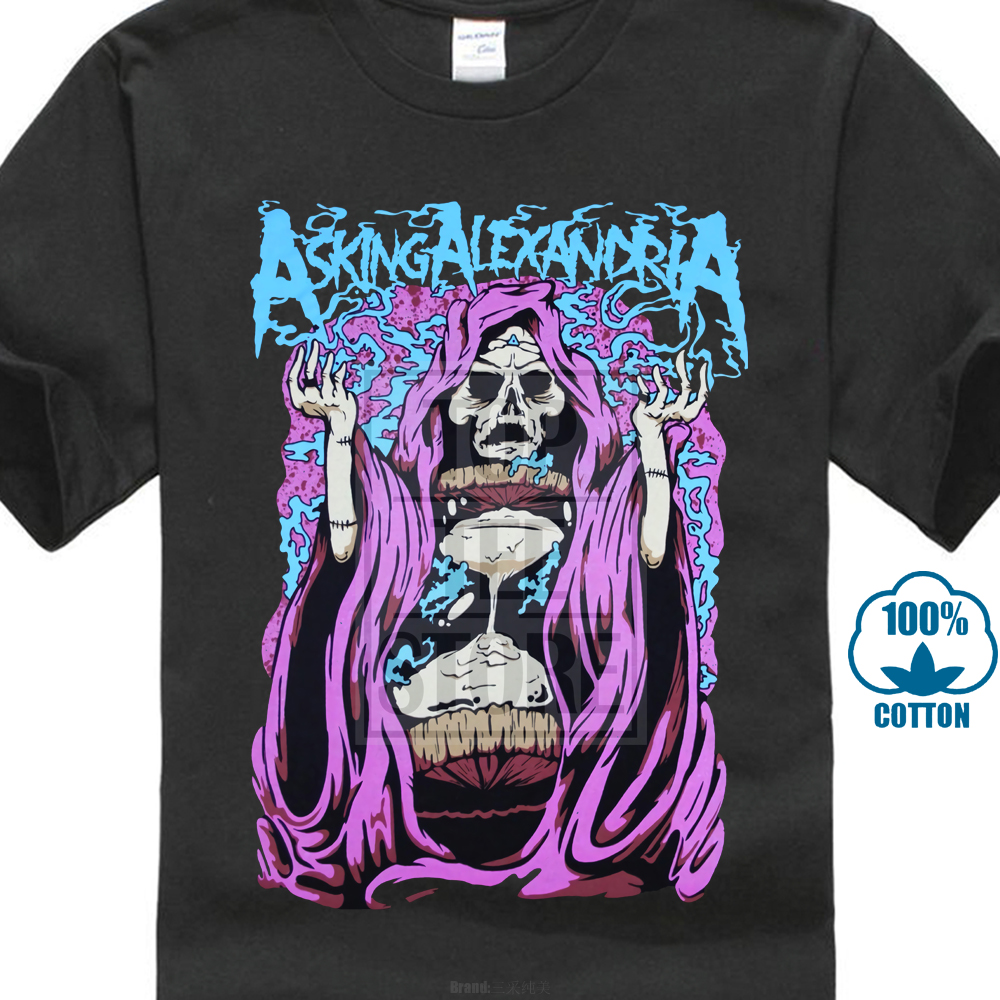 Asking Alexandria S M L Xl 2Xl 3Xl T Shirt Metalcore Band We Are Harlot 020301 image