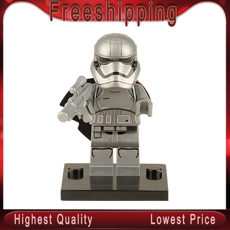 Star Wars Legoed XH146 The Force Awakens Phasma Storm Jedi Clone Trooper Building Blocks Action Figure Children Gift Toys