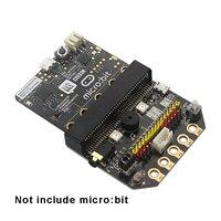 الأساسية: بت IO لوح تمديد Micro: بت نوع أفقي Pinboard للوحة تطوير Microbit Python
