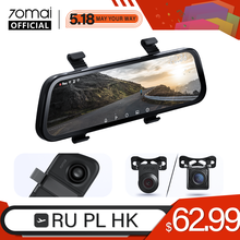 2020 Nieuwe 9.35 Inch Full Screen 70mai Achteruitkijkspiegel Dash Cam Breed 1080P Auto Cam 130FOV 70mai Spiegel Auto Recorder streamen Media Auto Dvr(China)