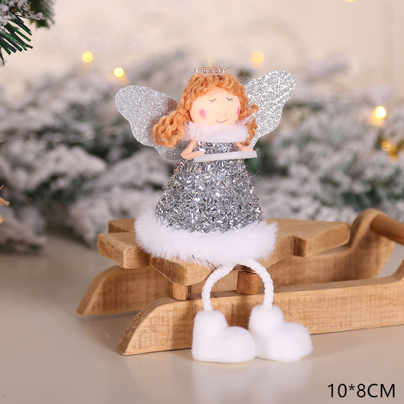 2020 New Year Gift Cute Christmas Angel Doll Xmas Tree Ornament Noel Deco Christmas Decoration for Home Natal Navidad 2019 Decor 44