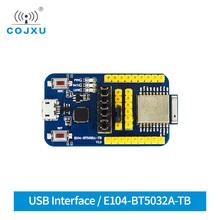 NRF52832 USB płyta testowa zestaw badań dla BLE 5 0 moduł bluetooth E104-BT5032A-TB tanie tanio cojxu
