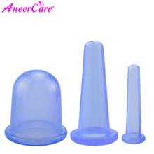 3 sztuk Jar próżniowe bańki do masażu Ventosa Celulitis przyssawki przyssawki masaż twarzy puszki anty cellulit dla ciała tanie tanio Aneercare CN (pochodzenie)