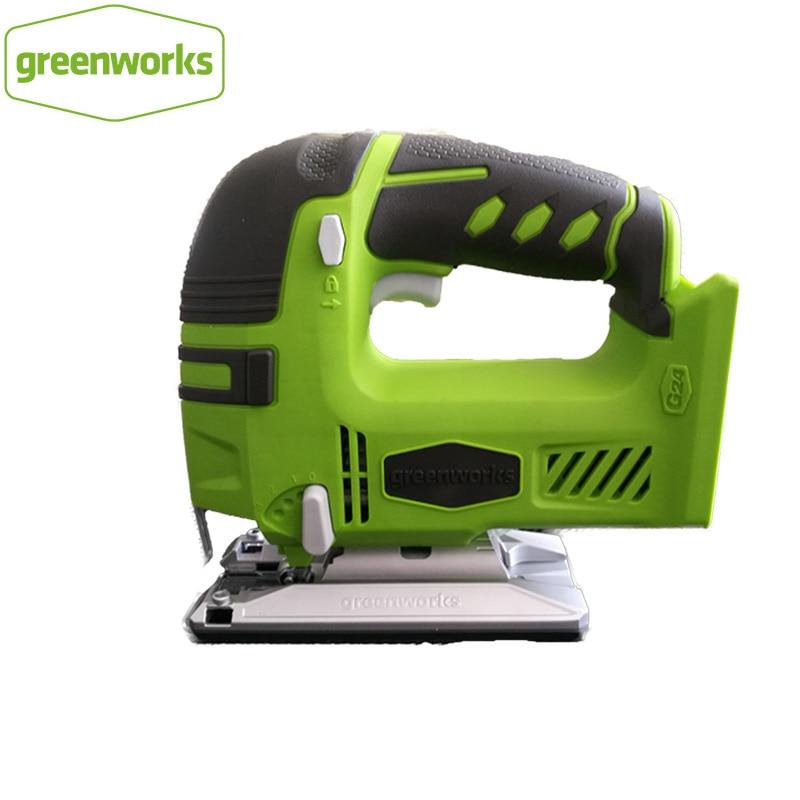 Greenworks 24V Battery Jig Saw Cordless Jigsaw Quick Blade Change Electric Saw LED Light