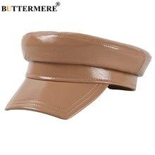 Buttermere женские шапки из лакированной кожи кепки высокого